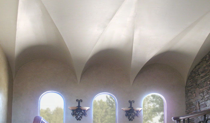 Arch Ceiling