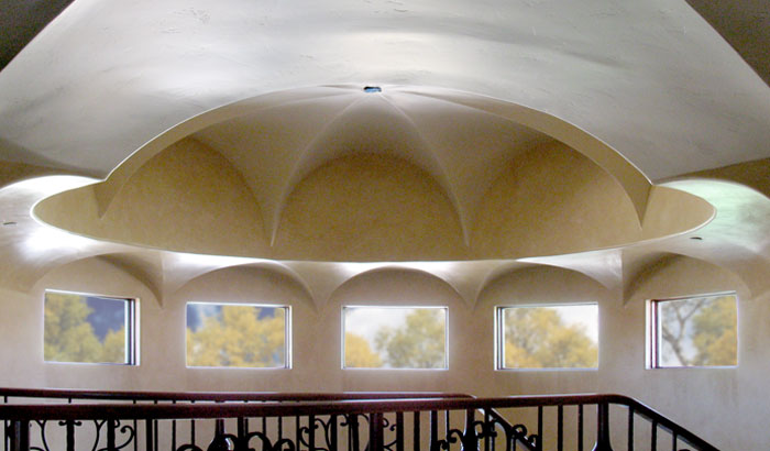 fluted dome